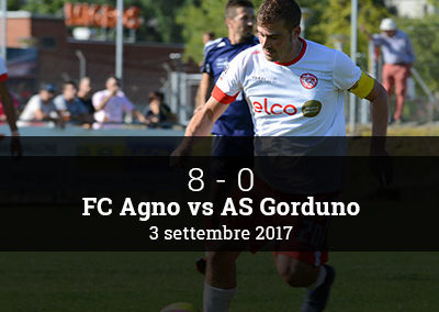 FC AGno – AS Gorduno