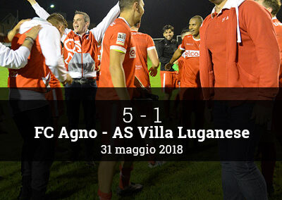 FC Agno vs AS Villa Luganese