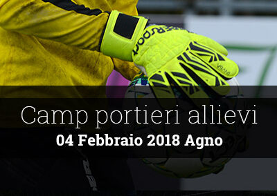 Camp portieri allievi 2018